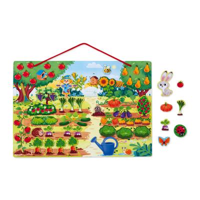 Magnetická hračka - Moja záhrada