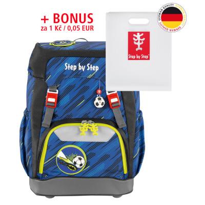 Školský ruksak GRADE Step by Step - Fotball + dosky na zošity za 0,05 EUR