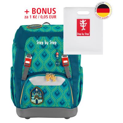 Školský ruksak GRADE Step by Step - Zázračný zámok + dosky na zošity za 0,05 EUR