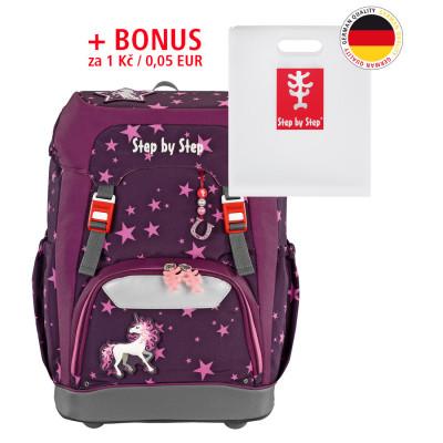 Školský ruksak GRADE Step by Step - Jednorožec + dosky na zošity za 0,05 EUR