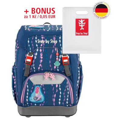 Školský ruksak Step by Step GRADE Morská víla + Dosky na zošity za 0,05 EUR
