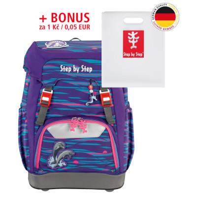 Školský ruksak Step by Step GRADE Delfíny + Dosky na zošity za 0,05 EUR