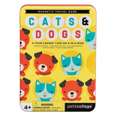 Magnetická hra Mačky a psy