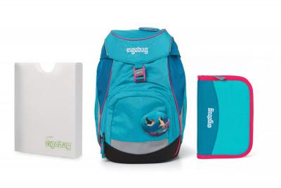 Školní set Ergobag prime Tropical 2020 - batoh + penál + desky