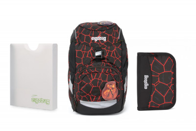 Školní set Ergobag prime Super Hero 2020 - batoh + penál + desky