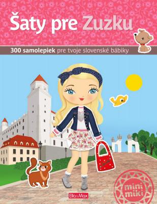 Šaty pre Zuzku - kniha samolepiek