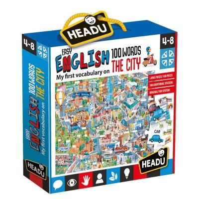 HEADU: 100 anglických slovíčok – Mesto