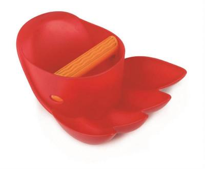 Velká tlapa, červená - hračka na písek
