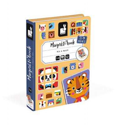 Magnetická kniha - Puzzle - zvieratá