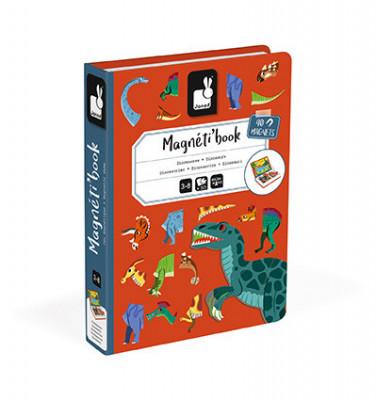 Magnetická kniha - Dinosaury