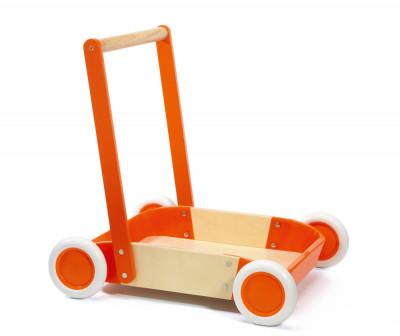 Červené chodítko - vozík