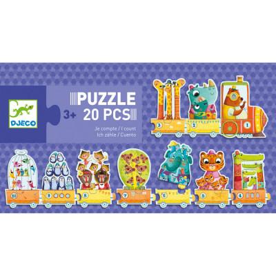 Puzzle - Učím se počítat
