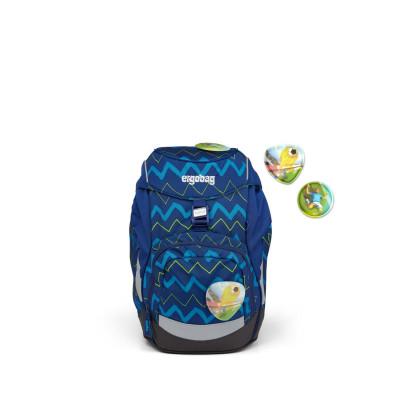Školský batoh Ergobag prime – Modrý zig zag 2021
