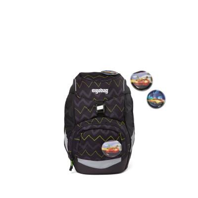 Školský batoh Ergobag prime – Čierny zig zag 2021