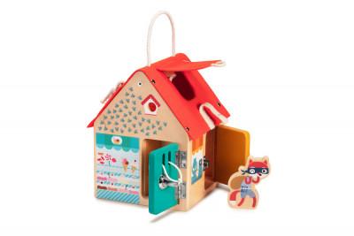 Lilliputiens - drevený domček so zámkami
