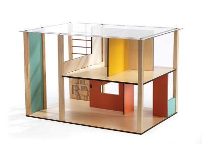 Domček pre bábiky - moderný domček