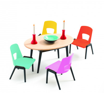 Domček pre bábiky - jedáleň