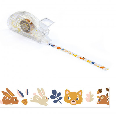 Dekorační lepicí páska - zvířata