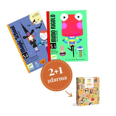 Balíček kartových hier Djeco - Pre predškolákov