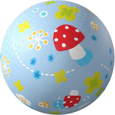 Lopta pre deti - Muchotrávky - 13 cm