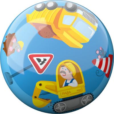 Lopta pre deti - Stavebné stroje - 15 cm