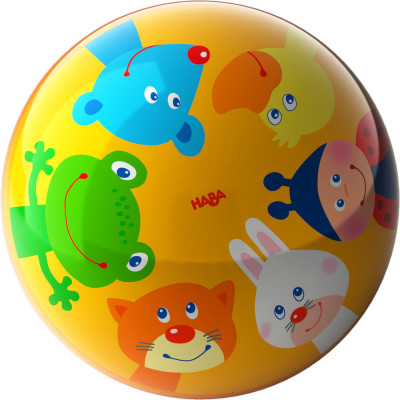Lopta pre deti - Zvierací kamaráti - 15 cm