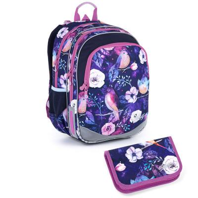 Školský batoh a peračník Topgal ELLY 21004 G