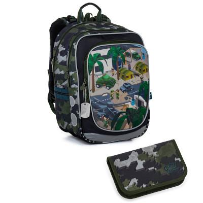 Školský batoh a peračník Topgal ENDY 21016 B