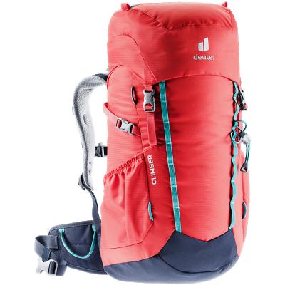 Dětský batoh Deuter, Climber chili-navy