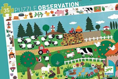 Poznávacie puzzle – Statok 35 dielikov