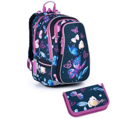 Školský batoh a peračník Topgal LYNN 21007 G