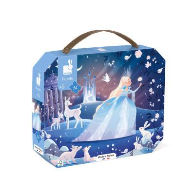 Puzzle - Ľadová kráľovná - 54 ks