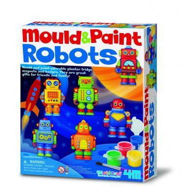 Sádrové odliatky - Roboti