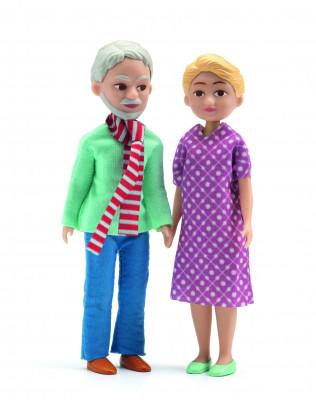Domček pre bábiky – prarodičia