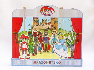 Marionetino - Bábkové divadlo - univerzálna sada bábok a kulís
