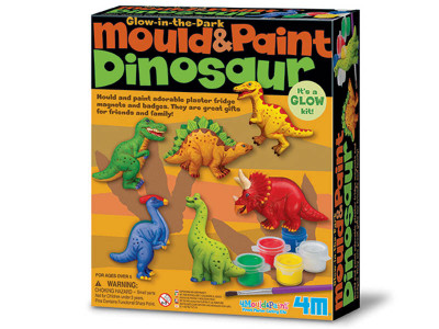 Sádrové odliatky - Svietiaci dinosaurus