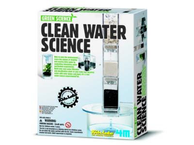 Čistá voda - pokusy s filtrováním