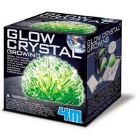Pěstování svítících krystalů