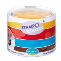 StampoColors - velké barevné inkoustové polštářky Harlekýn