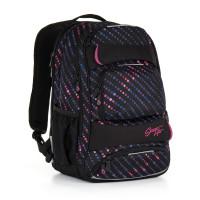 Študentský batoh Topgal - HIT 884 A - Black