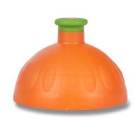 Náhradní víčko na Zdravou lahev, oranžové/zelená