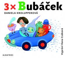 3x Bubáček - audiokniha na CD - mp3