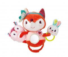Lilliputiens – líška Alice – hračka na kočík