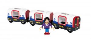 Brio - súprava metra s figúrkou