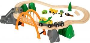 Brio set - Vláčikodráha s nákladným vlakom