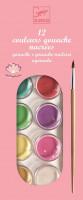 Vodové farby pre deti – ružové
