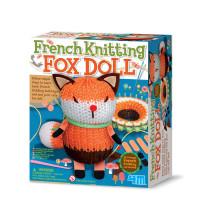 Francúzske pletenie - Líška