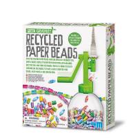 Recyklujeme - papírové korálky