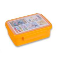 Svačinový box Zdravá sváča - oranžový