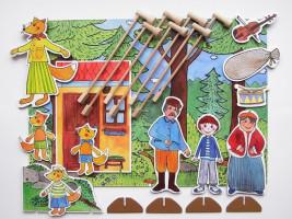 Marionetino – Bábková rozprávka s tyčkami – Budulínek